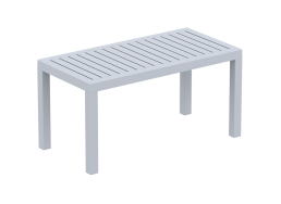 TABLE BASSE EN POLYPROPYLENE Gris clair PACIFIC