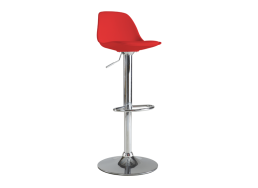 Tabouret contemporain Rouge NILO