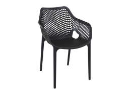 Chaise de jardin design Noir AIR XL