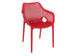 Chaise de jardin design Rouge AIR XL