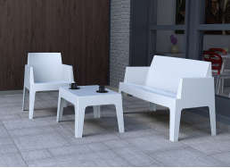 SALON JARDIN ICE Blanc ICE 2/1