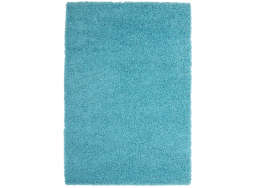 Tapis poil long Turquoise TWIST