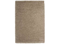 Tapis poil long Cappuccino TWIST