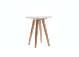 Table basse ronde blanche Blanc BETA