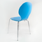 Chaise empilable galbée Bleu SEDIA
