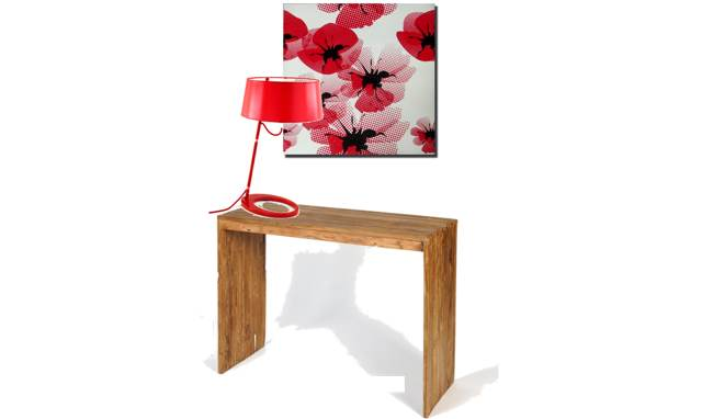 console-nature -lampe-pop-rouge-laurie-lumiere