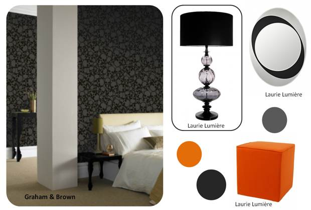 chambre-halloween-noire-orange-laurie-lumiere-