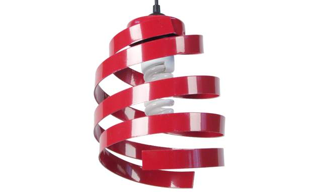 Suspension Pole rouge
