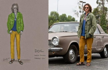 Les costumes oranges d'Inherent Vice
