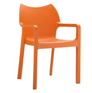 chaise pop orange Achat Design