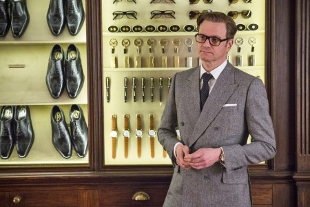 Des vitrines d'exception Kingsmen