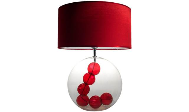 lampe-rouge-verre-collana-laurie-lumiere