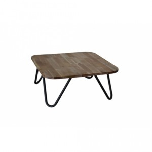 table basse bois et metal pisco Keria