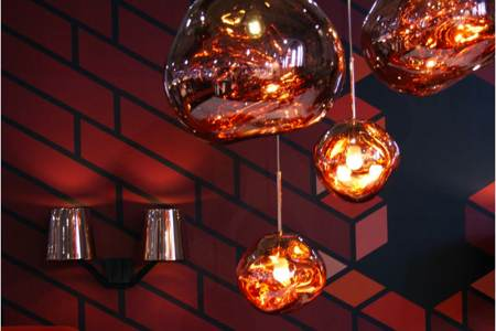 Suspensions Melt Copper Tom Dixon