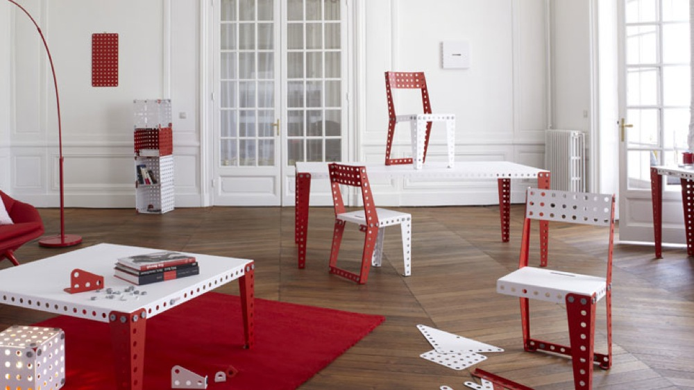 mobilier meccano appartement parisien Achatdesign