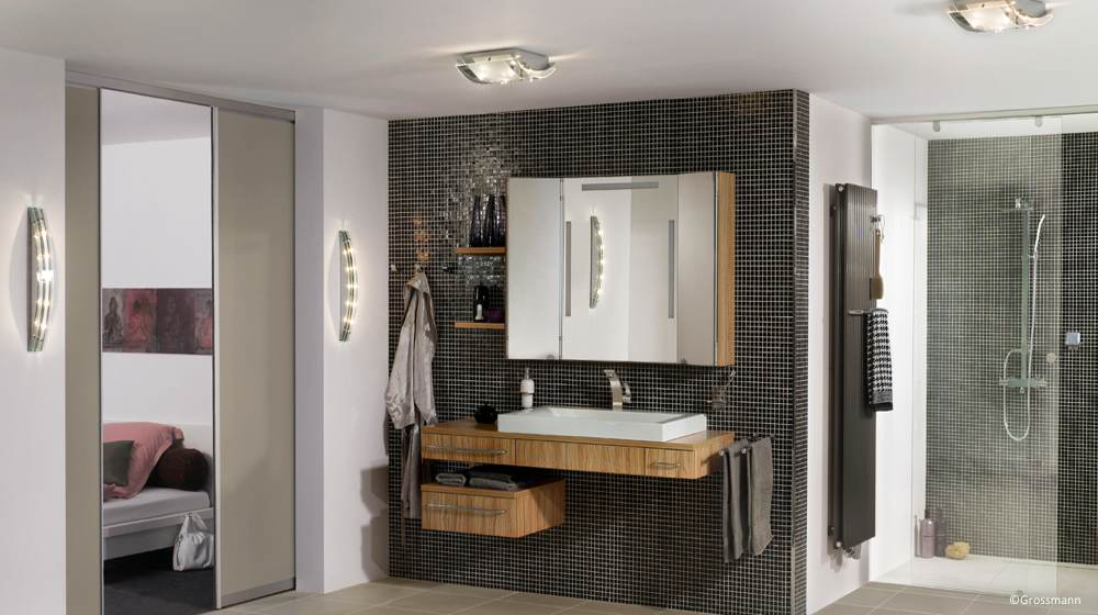 une salle de bains fonctionnelle et d co achatdesign. Black Bedroom Furniture Sets. Home Design Ideas