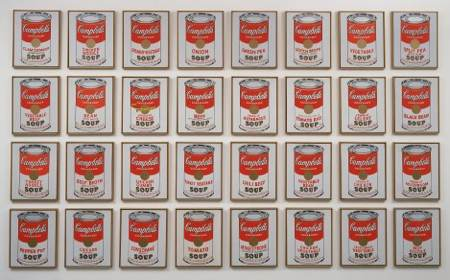 Warhol-pop-art-Soup-Cans