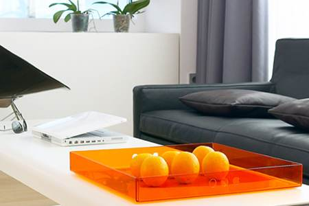 salon-noir-blanc-orange-fresh-hotel
