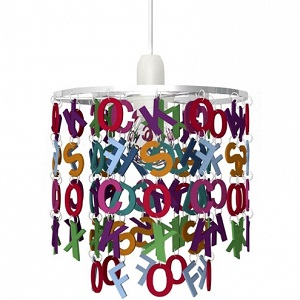 keria suspension-multicolore-alphabet