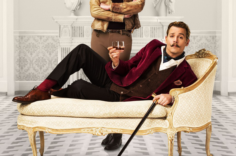 Johnny Depp dans Charlie Mortdecai