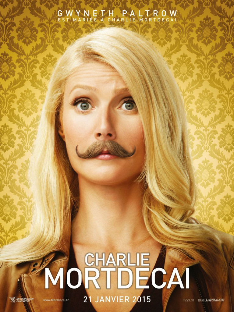 Gwyneth paltrow dans charlie mortdecai