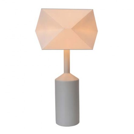 Lampe origami grise Laurie Lumière