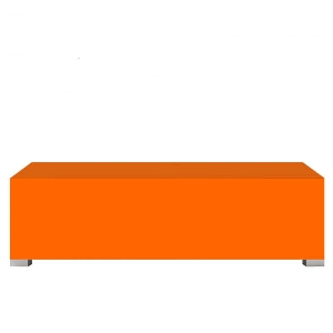 Banc TV orange Achatdesign