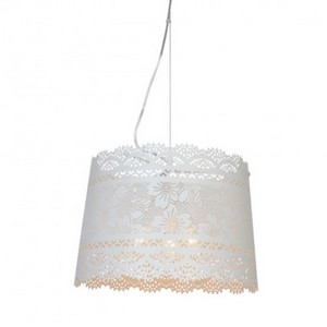 suspension clarisse blanc