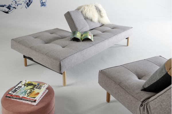 meridienne gris modulable achat design