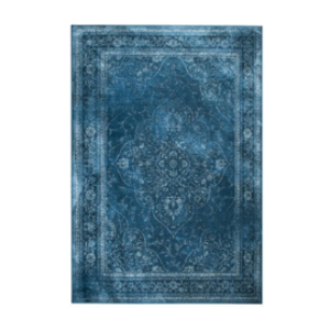 tapis bleu achat design rugged