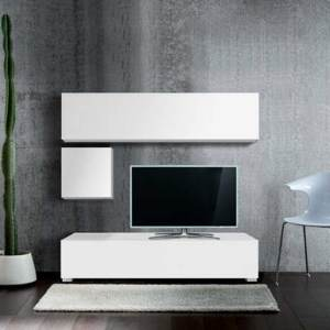 Ensemble TV blanc Madison