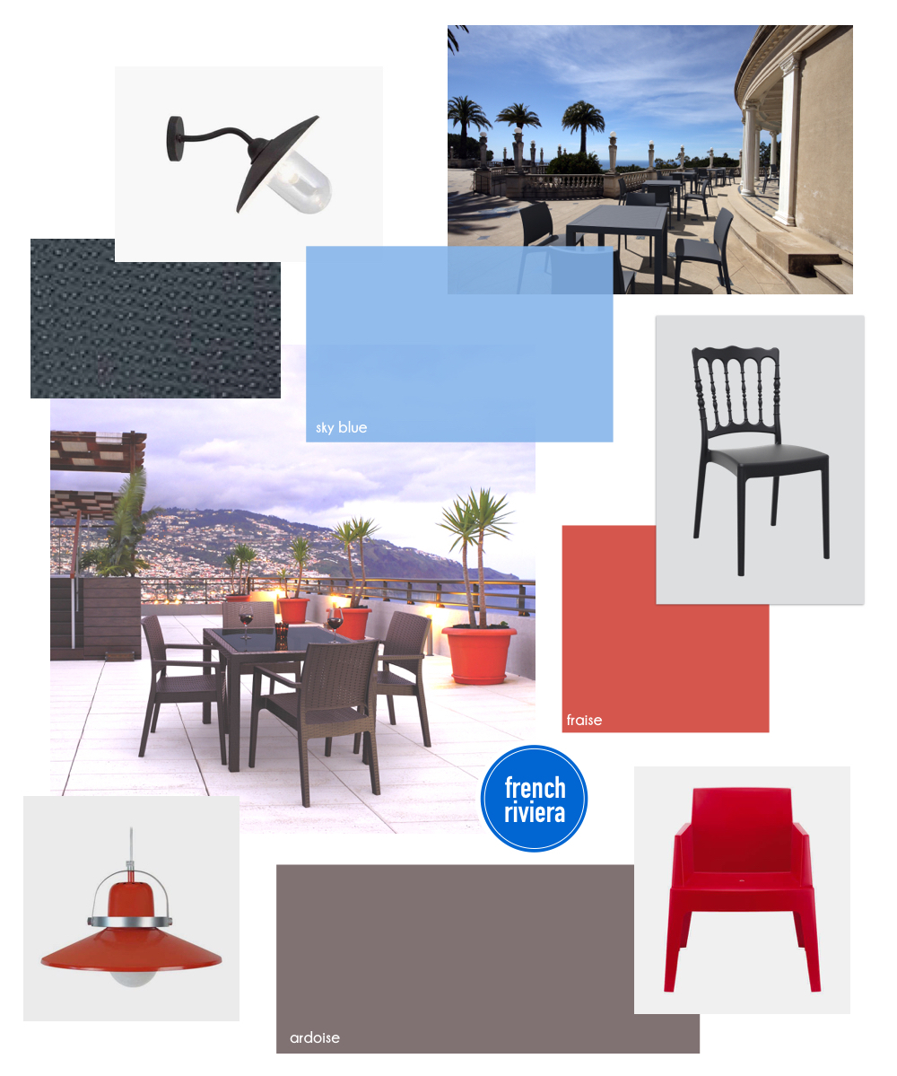 Planche tendance style French Riviera