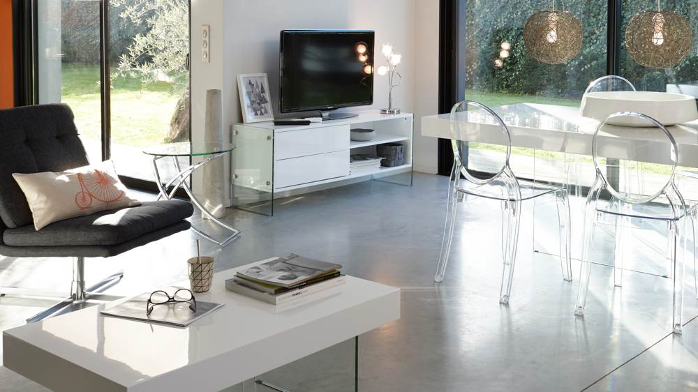 Le style contemporain qu est ce que c est achatdesign for Salon style contemporain