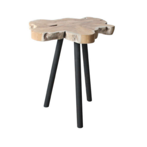 table basse appoint bois metal achat design treetop