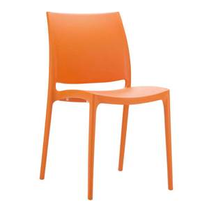 Chaise de jardin orange Foxy