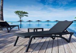 chaise-longue-dossier-inclinable-noir-achat-design-pacific