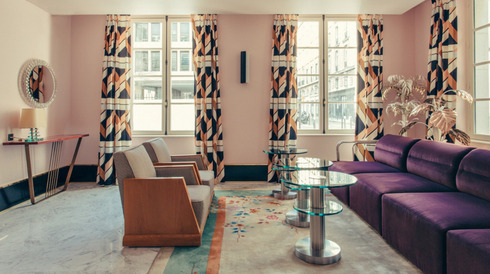 L\'Art déco contemporain de l\'hôtel Saint-Marc - AchatDesign