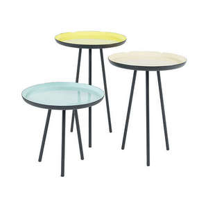 Trio table basse